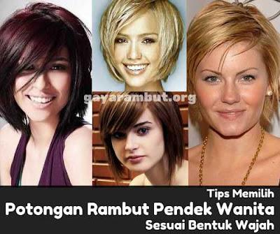 rambut pendek wanita sesuai bentuk wajah_9873240014