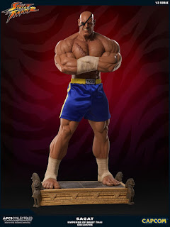 Sagat 1/3 Statue de Street Fighter V - Pop Culture Shock