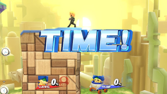 Daylight Savings Time Donald Trump THE WALL Ludwig Von Koopa Super Smash Bros.