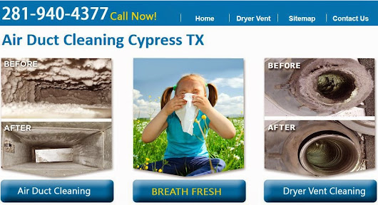 Air Duct Cleaning Cypress TX