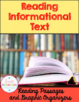reading informational text passages cover