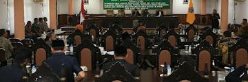 Wakil Wali Kota Tarakan Menghadiri Rapat Paripurna VII Dan VIII DPRD