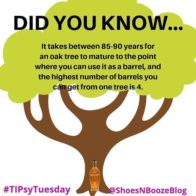 It takes almost 90 years for a tree to reach barrel-level maturity