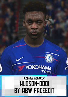 PES 2017 Faces Callum Hudson-Odoi by ABW_FaceEdit