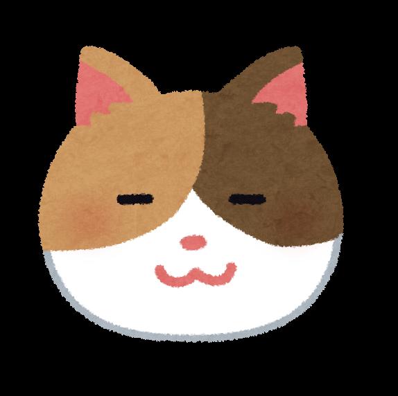 猫の顔のイラスト かわいいフリー素材集 いらすとや