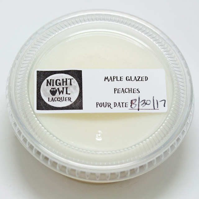 Night Owl Lacquer Maple Glazed Peaches wax