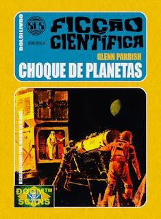bolsilivro sos ficção científica cedibra série azul glenn parrish choque planetas