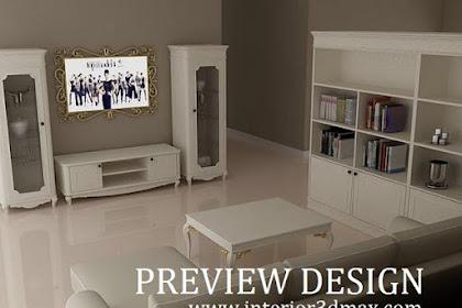 Desain Apartemen Tipe 49 Living Room