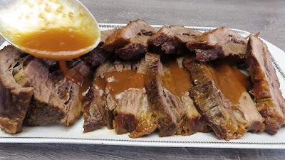 Juneći Flam u Pikantnom Umaku s Pivom | Flank Steak Marinated in Beer Gravy