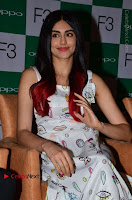 Bollywood Actress Adah Sharma Pos in White Printed Short Dress at OPPO F3 Plus Selfie Expert Mobile Launch .COM 0047.jpg