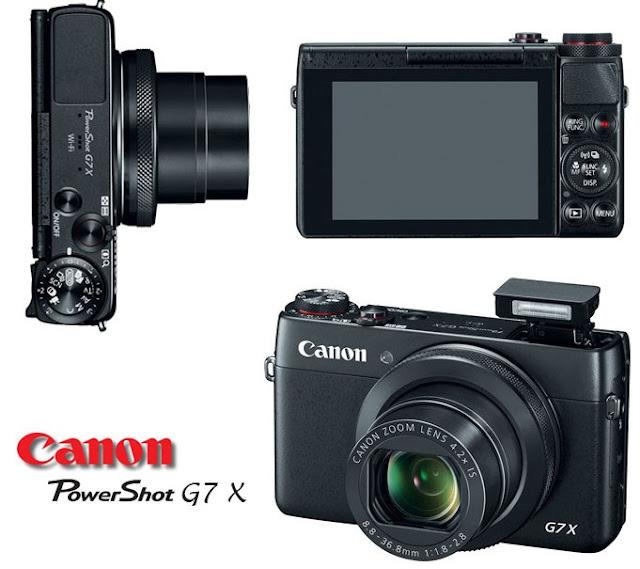 Kamera Canon PowerShot G7X