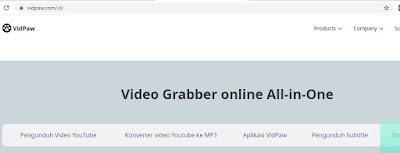 Cara Download Video YouTube di komputer vidpaw