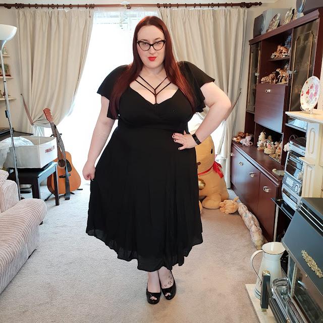 Vixen Babydoll Dress plus size