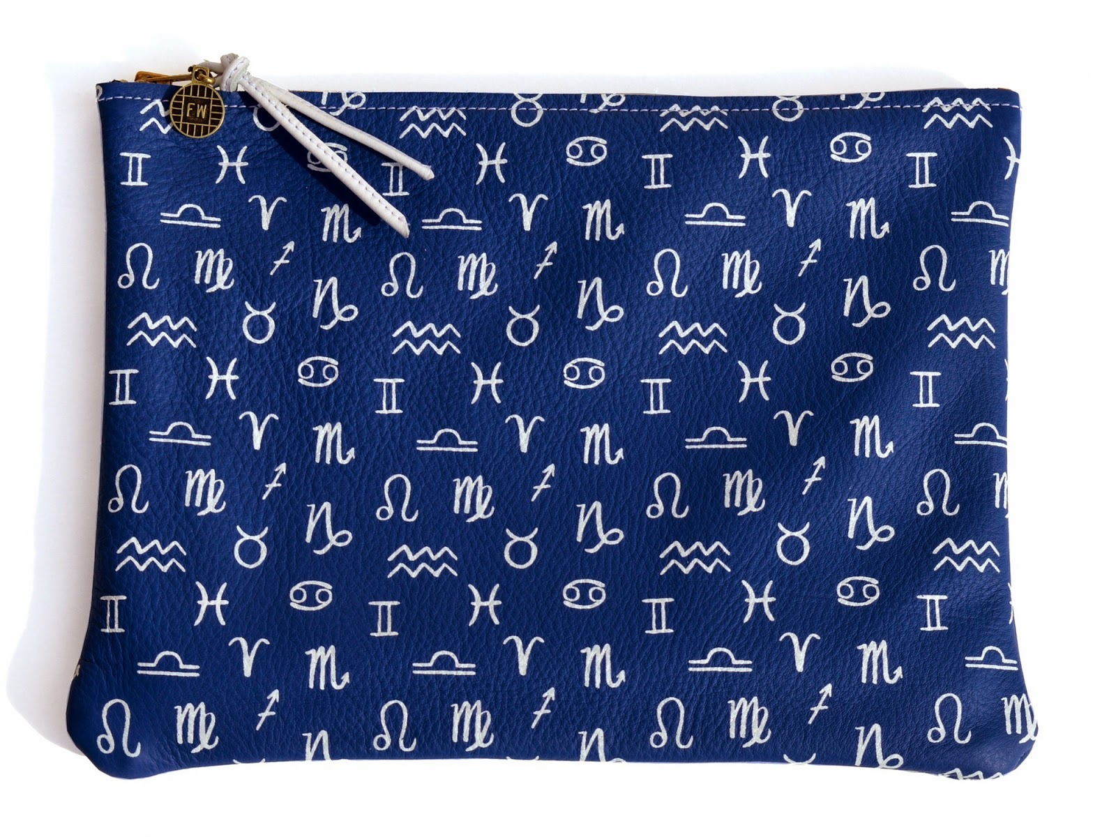 uk style fashion blog printed clutch zodiac