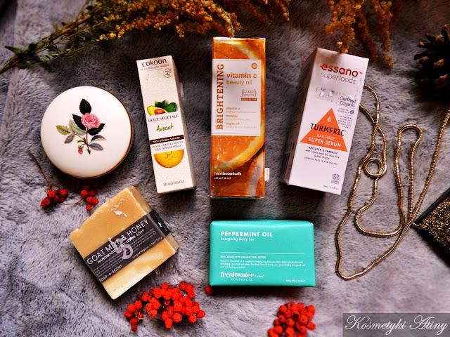 naturalne kosmetyki z tk maxxa, moje zakupy