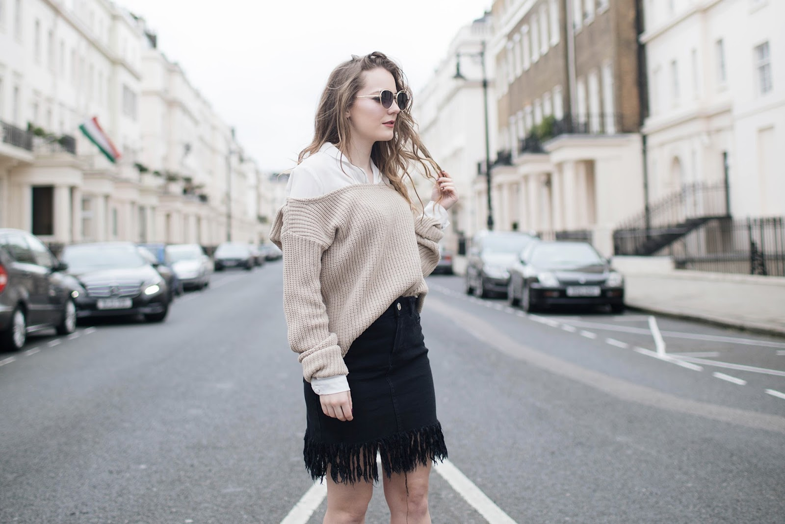 according to plan, nothing ever goes as planned, nothing goes as planned everything will break, all according to plan, when things don't go as planned, fashion blogger london, london based fashion blogger, london based style blogger, uk based style blogger, fringed skirt,