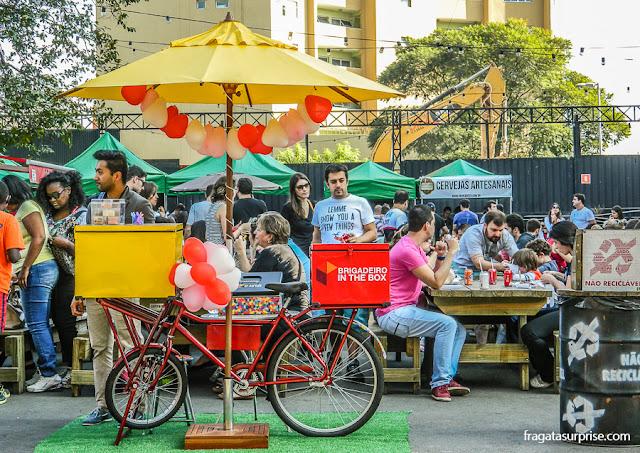 parque de food trucks Vila Butantã, São Paulo