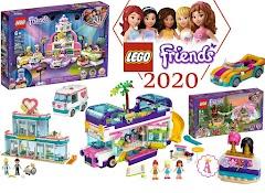 Новые конструкторы для девочек LEGO Friends 2020: Топ 11 наборов зимы