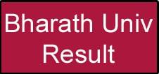 Bharath University Result