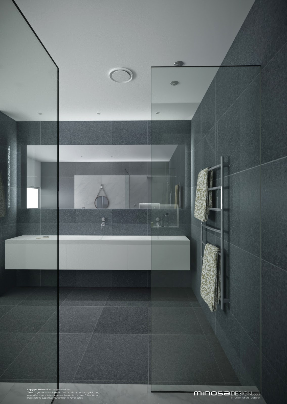 Minosa A Real Showstopper Modern Bathroom