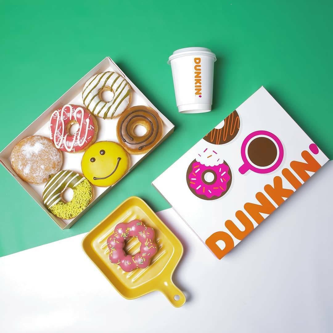 Promo Dunkin Donuts harga Spesial 18 Donat hanya Rp.120.000