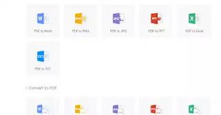 أفضل مواقع للتعامل مع ملفات PDF وتحويلها بأدوات إحترافية (مجانا)