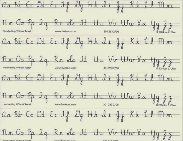 Improving Handwriting Worksheets | Hand Writing