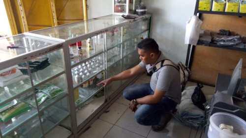 Pencuri  Bobol Toko Sari Kimia di Gondang Sragen