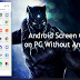 Lag Free Android Screen Cast on PC Without Any Software Using USB 60FPS +