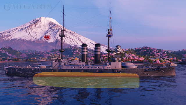 Mikasa world of warships