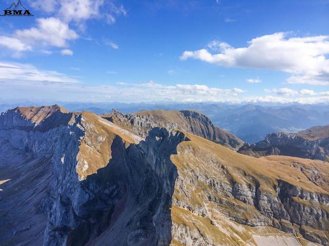 wandern hochiss - Rofan Achensee - Alpenhauptkamm hohe Tauern