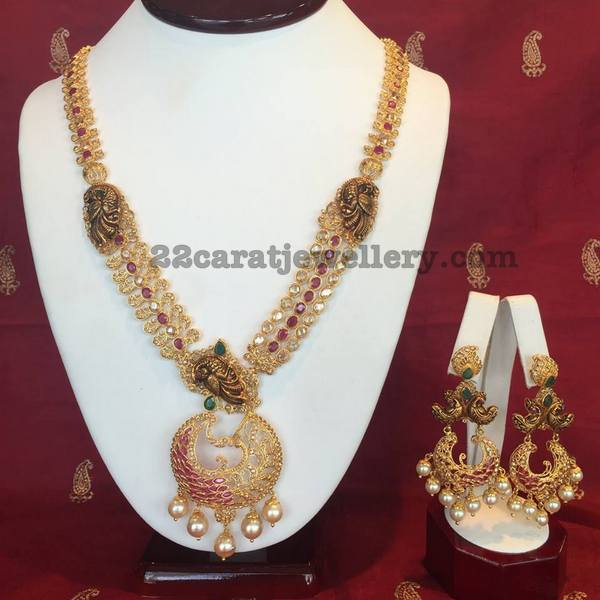 Nakshi Chandbalis with Rubies