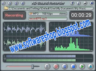 audio recording from streaming website