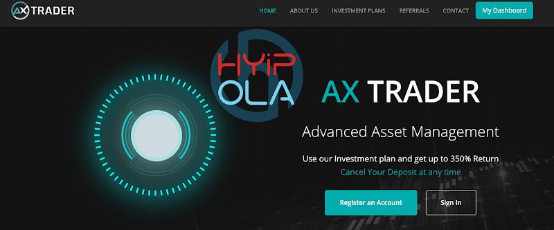 [SCAM] Review AxTrader - Dự án đầu tư lý tưởng lãi từ 3% hằng ngày - Cho rút vốn