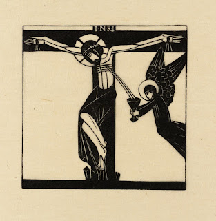 Eric Gill, Jesus Dies Upon the Cross, 1917, photo (C) Tate