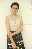 Taapsee Pannu in transparent top at Anando hma theatrical trailer launch ~  Exclusive 086.JPG