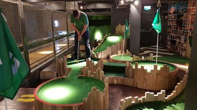 Lane7 indoor minigolf course