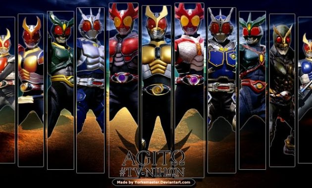 Download Tokusatsu Kamen Rider Agito Batch Subtitle Indonesia