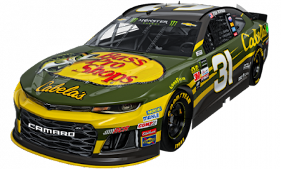 Richard Childress Racing Continues Longtime Partnership with Johnny Morris and Bass Pro Shops in 2018 to Celebrate Cabela's