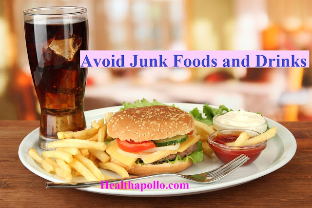 Avoid junk food in periods