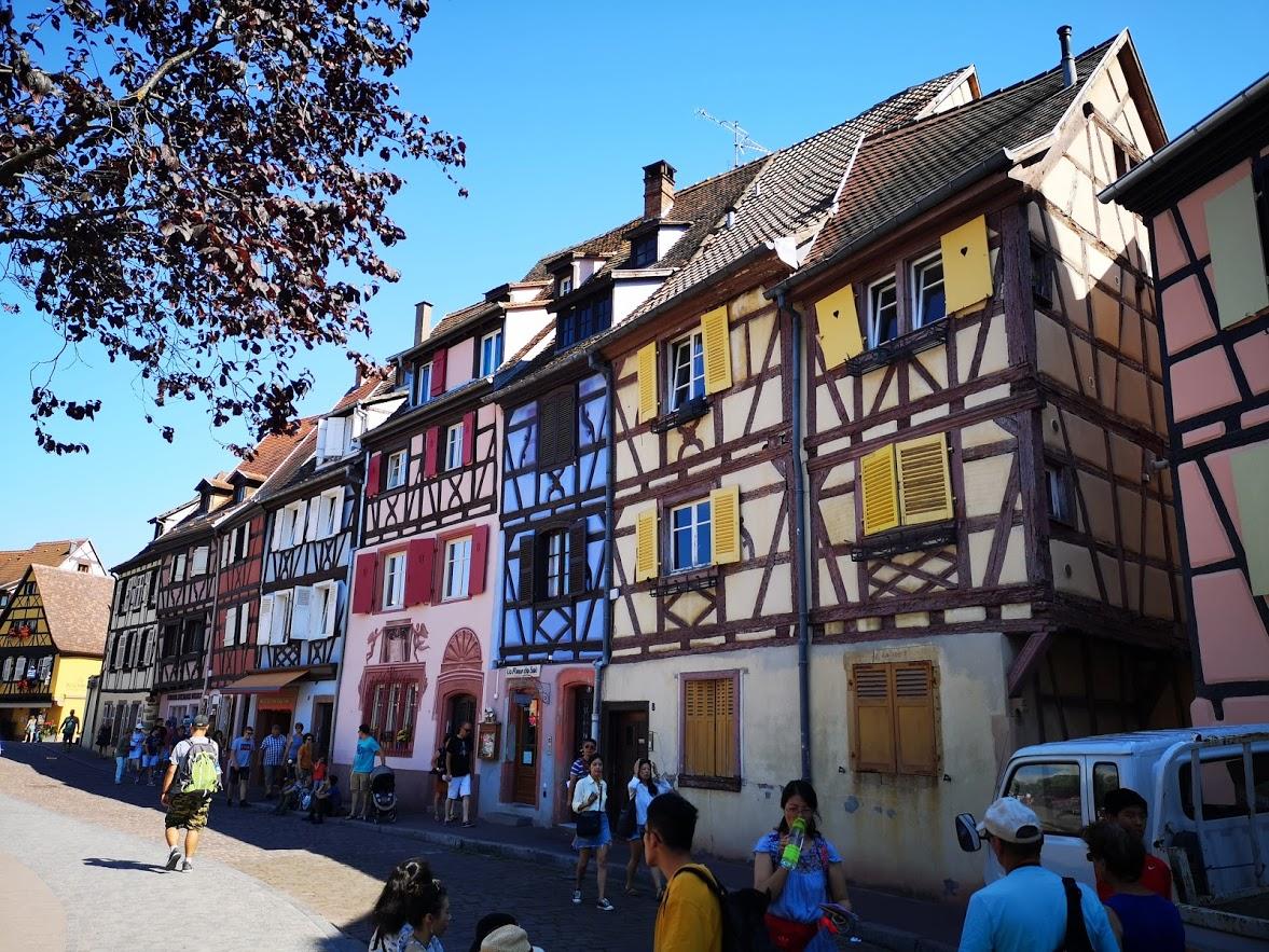 Alsacia – drumul vinului