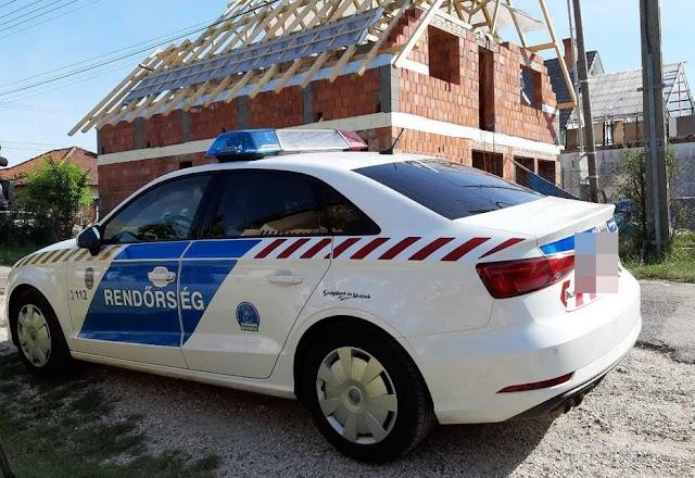 Tragédia: lezuhant egy ember az épülő gyömrői ház tetejéről
