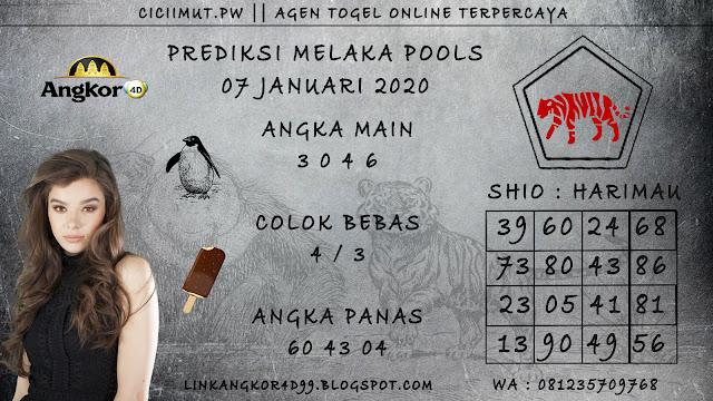 PREDIKSI MELAKA POOLS 07 JANUARI 2020