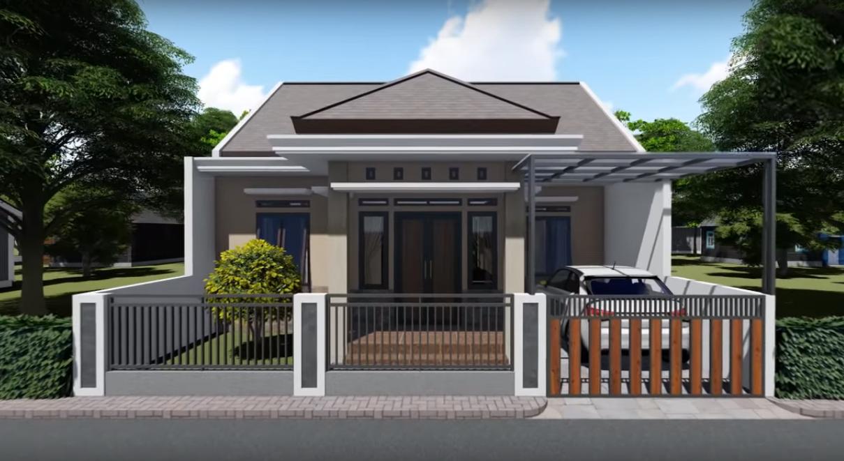 Desain Dan Denah Rumah Minimalis Ukuran 9 X 12 M, Tampil Sederhana Tapi  Nyaman Dengan 3 Kamar Tidur ~ Homeshabby.com : Design Home Plans, Home  Decorating And Interior Design