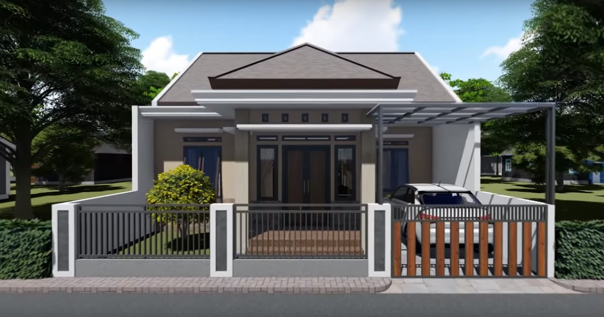 Desain Dan Denah Rumah Minimalis Ukuran 9 x 12 M, Tampil ...