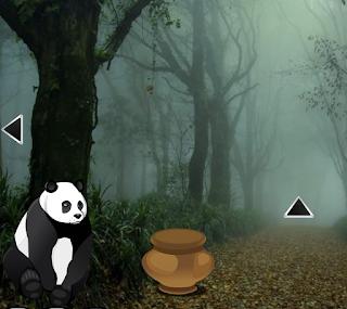 Baby Twin Panda Escape