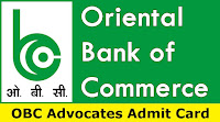 OBC Advocates Admit Card