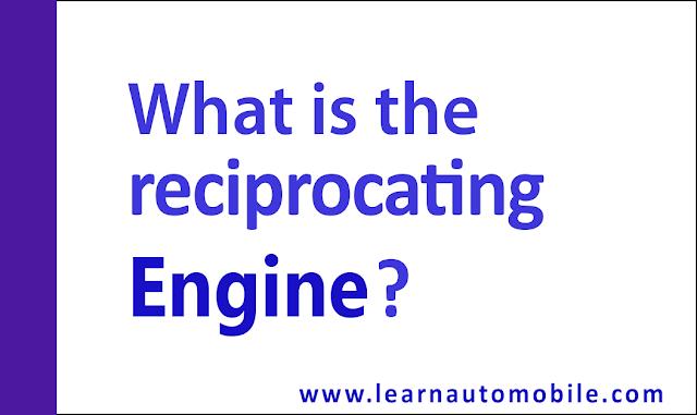 reciprocating engine