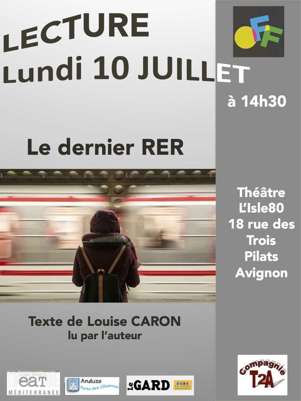 Livres et pi ces de louise caron lecture avignon off 2017 - Avignon off 2017 programme ...