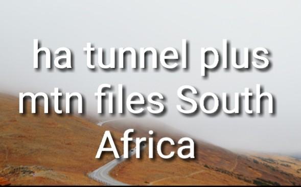 Ha tunnel plus mtn files